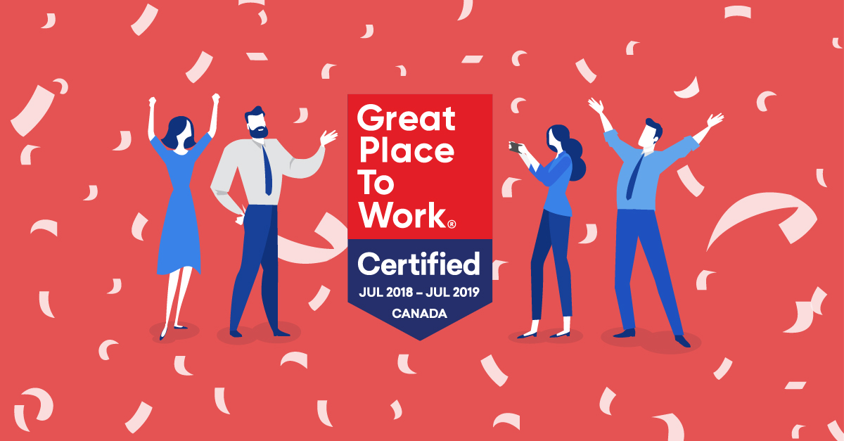 Ceridian Canada Is Great Place To Work Certified For Fourth Consecutive Year