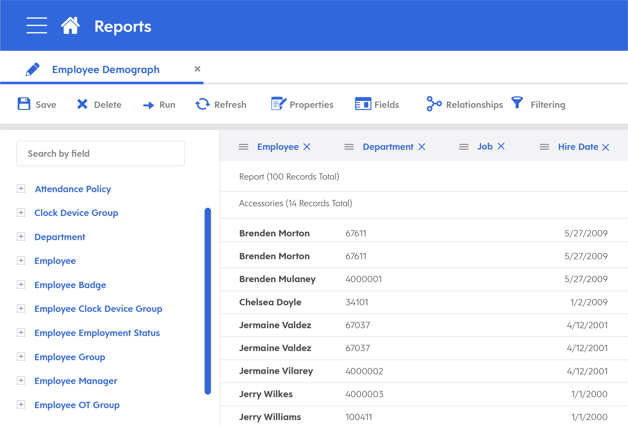 Streamlined Reporting in Dayforce Release 55
