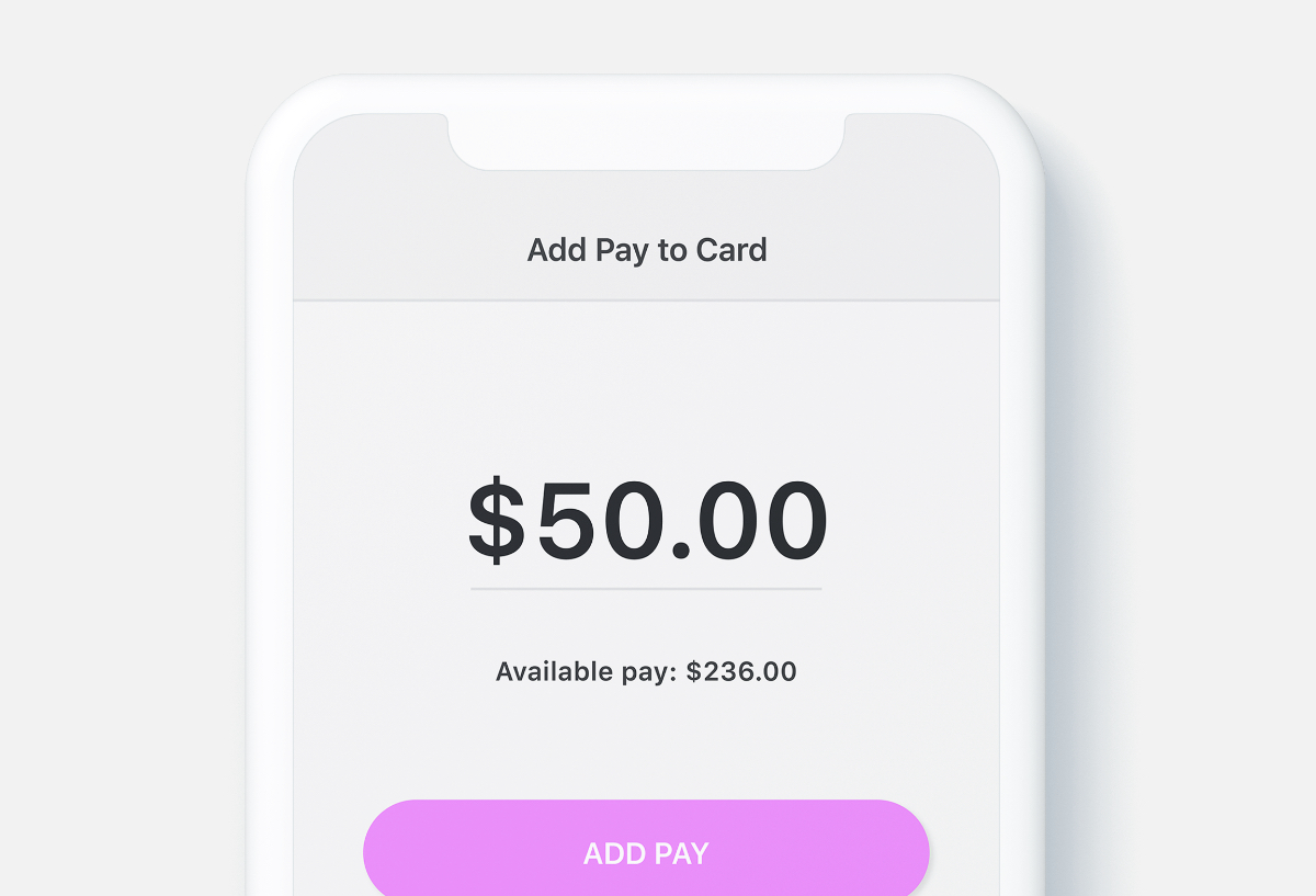 Screenshot showing how Dayforce Wallet can make on-demand and off-cycle payments easier